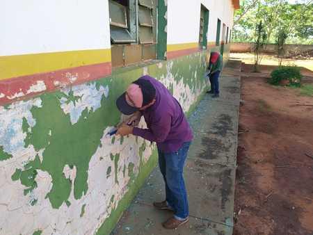 Left or right reforma escola quebra coco